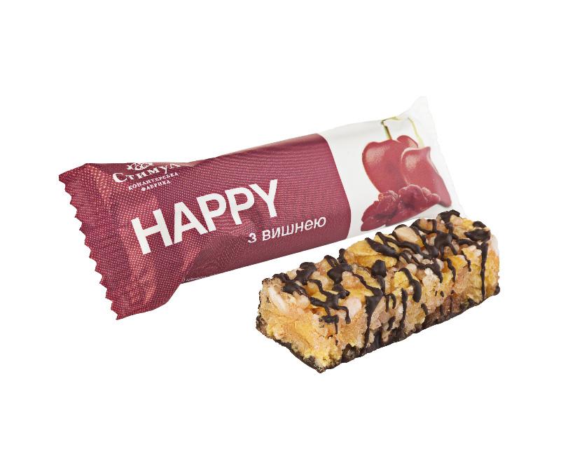 Конфеты «HAPPY» вишня Стимул