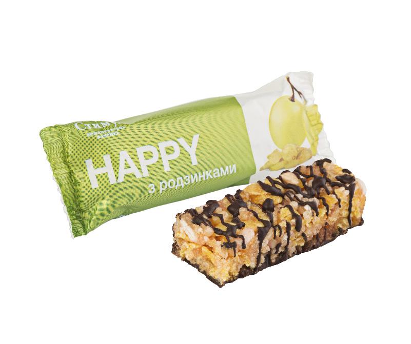 Конфеты «HAPPY» изюм Стимул