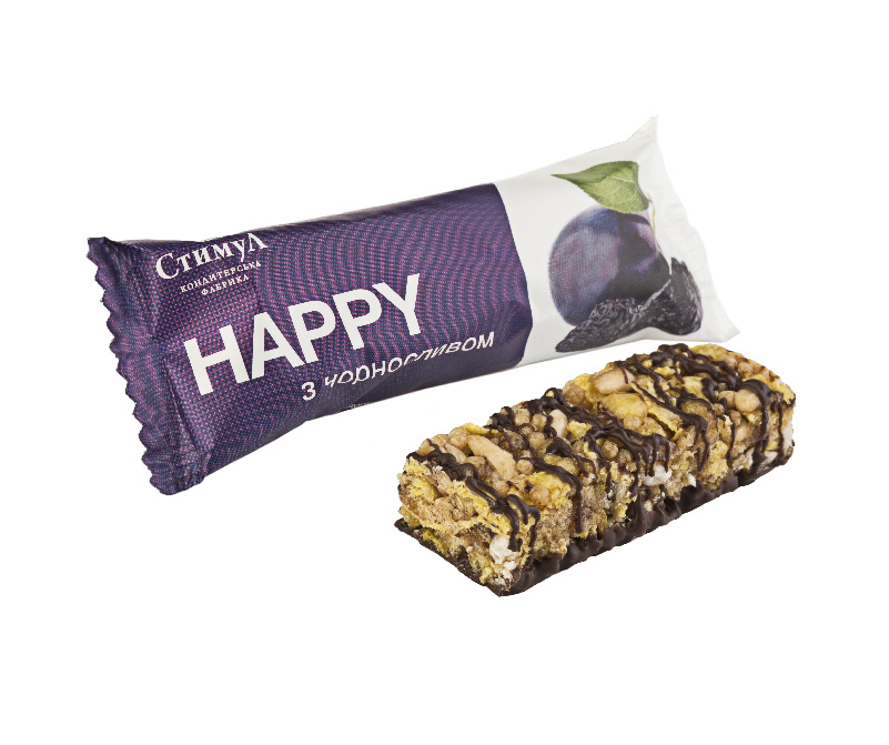 Конфеты «HAPPY» чернослив Стимул