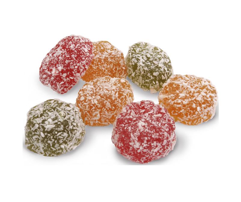 Marmelad «Jeleyniy formovoy v kokosovoy strujke» Stimul