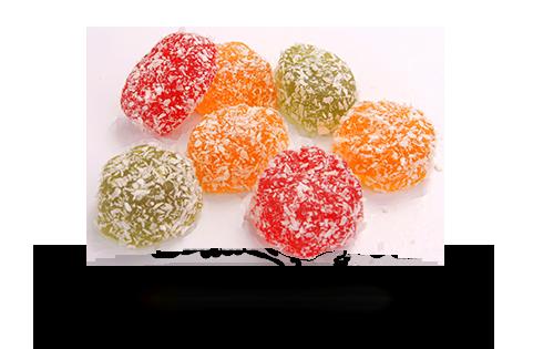Marmelad «Jeleyniy formovoy v kokosovoy strujke»