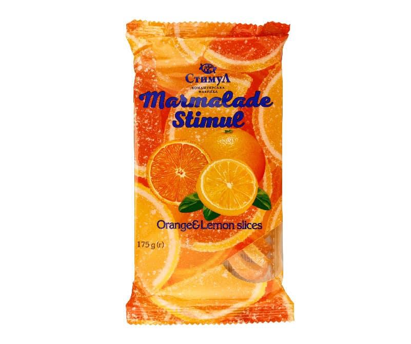 Мармелад «Лимонно-апельсиновые дольки»